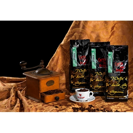 Cafea de  origini INDIA Karnataka - Caffe del Doge