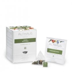 Ceai verde GRÜN MATINEE  Althaus Pyra Pack
