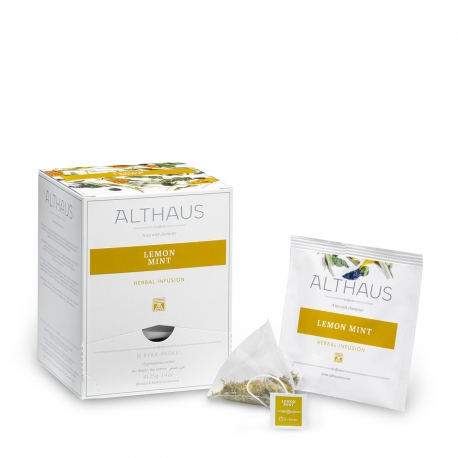 Ceai de menta Lemon Mint Althaus Pyra Pack