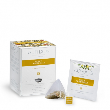 Ceai de musetel FANCY CHAMOMILE Althaus Pyra Pack
