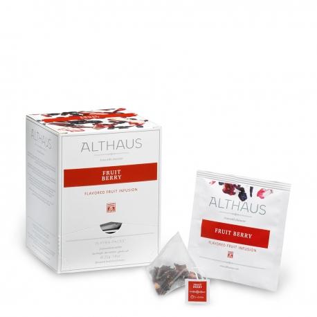 Infuzie de fructe Fruit Berry Althaus Pyra Pack