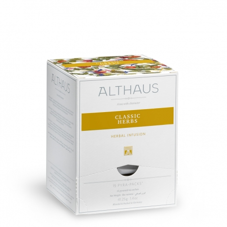 Infuzie din plante CLASSIC HERBS Althaus Pyra Pack