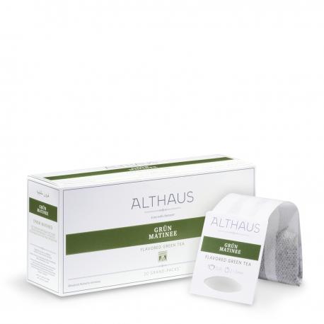Ceai verde Althaus GRÜN MATINEE Grand Pack