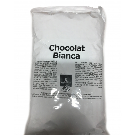 Ciocolata calda alba crema 1kg  Antico Eremo