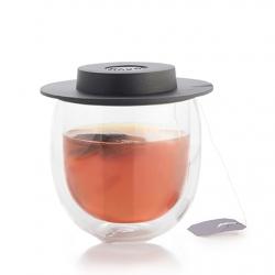Ceasca de ceai cu pereti dublii cu capac