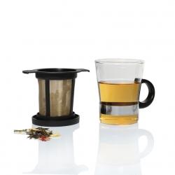 Cana de ceai cu infuzor si capac 200ml