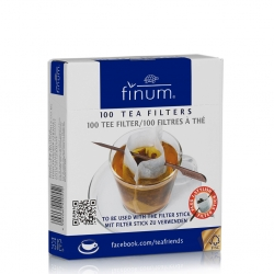 Filtre de ceai cu betisor Finum 100buc