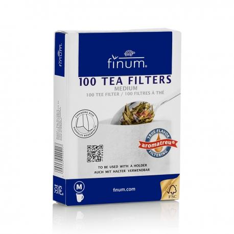 Filtre de ceai Finum 100buc M