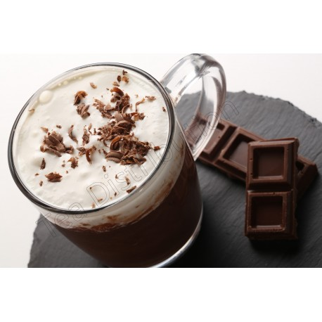 ciocolata calda neagra Antico Eremo