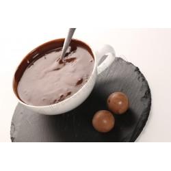 Ciocolata calda cu rom si praline crocante Antico Eremo