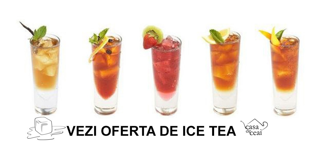 Oferta ICE TEA Casa de Ceai de la Tea DISTRIBUTION